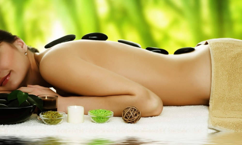 Spa massage huile asiatique